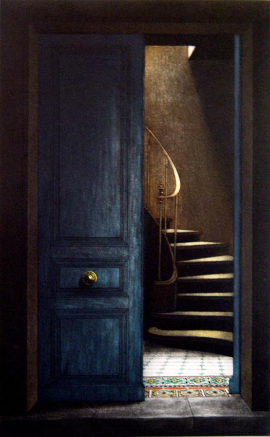 Galerie br heret artiste - La porte bleue en belgique ...
